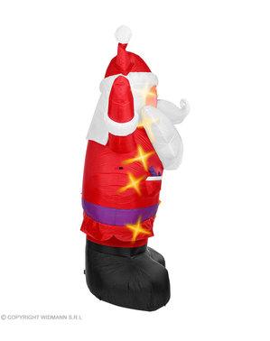 Père Noël gonflable lumineux (300 cm)