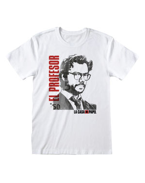 Camiseta La Casa de Papel Profesor para adulto