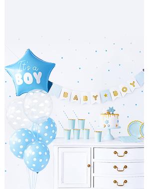 "Комплект за украса ""It's a Boy""– Baby Shower Party"