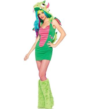 Niedliches Drachen Kostüm für Damen