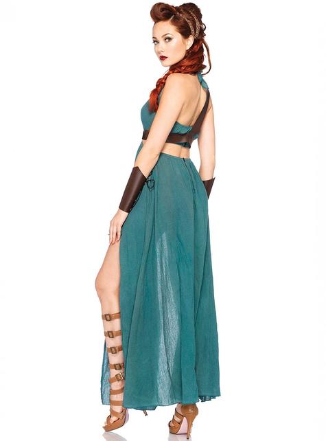 Disfraz de guerrera de la antigüedad para mujer