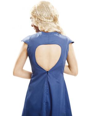 Dámský kostým královna draků modrý