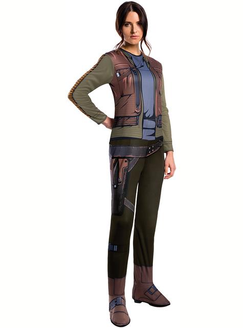 Disfraz de Jyn Erso Star Wars Rogue One deluxe para mujer
