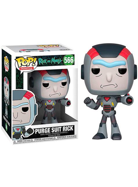 Funko POP! Obrišite obleko Rick - Rick & Morty