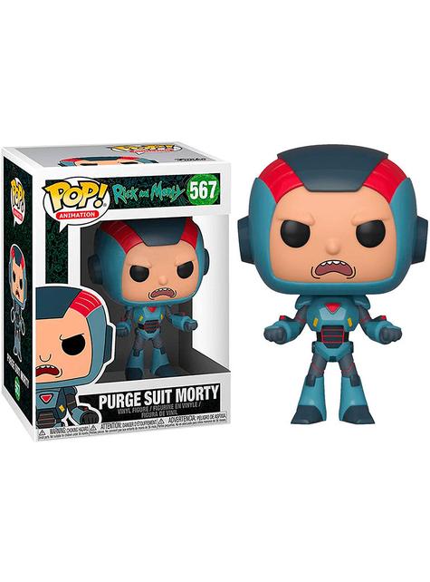 Funko POP! Purge Suit Morty - Rick & Morty