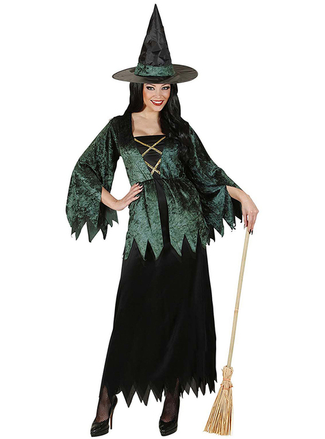 Woodland Witch Costume