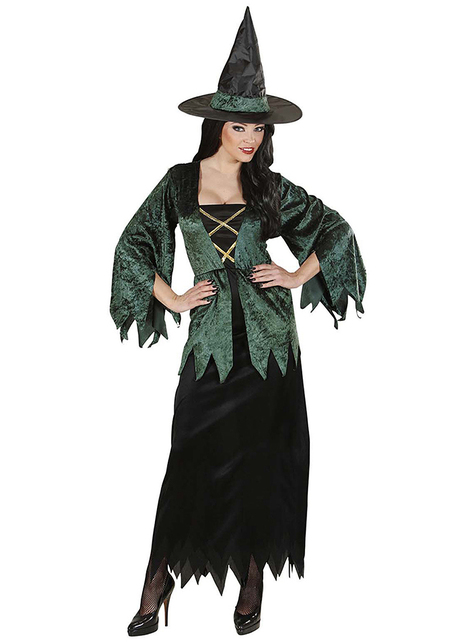 Disfraz de bruja del bosque
