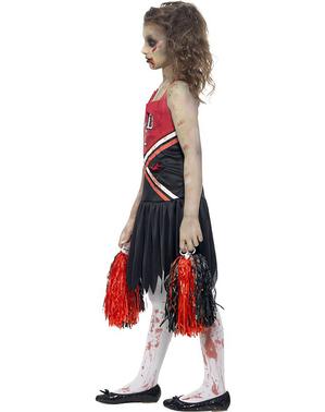 Costum de majoretă zombie pentru fată
