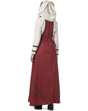 Dienstmädchen aus dem Mittelalter Kostüm für Damen