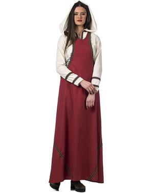 Fato de criada medieval para mulher