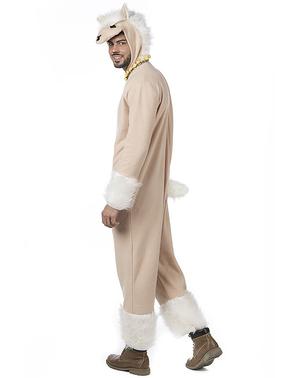 Lama kostuum voor mannen