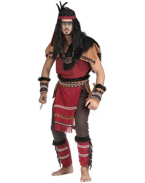 Disfraz de indio guerrero para hombre
