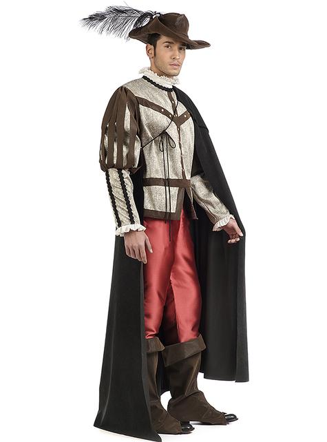 Premium musketeer costume for men
