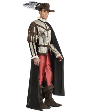 Premium musketeer costume for men