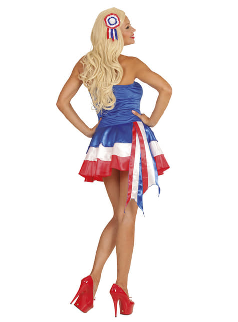 Woman's French Cheerleader Dress