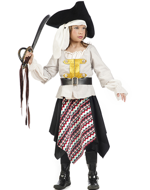 Pirate of the seven seas costume for girls