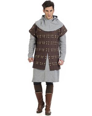 Déguisement armure médiévale homme