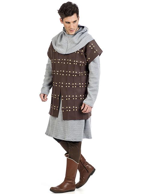 Middeleeuws Gambeson kostuum voor mannen