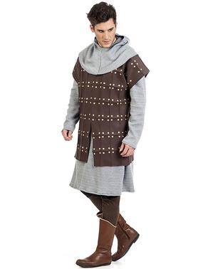 Keskiaikainen Gambeson asu miehille