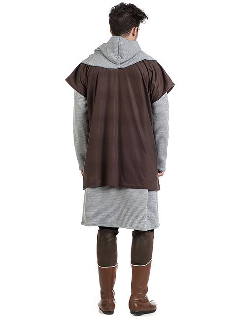 Disfraz de Gambesón medieval para hombre