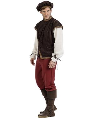 Middelalder kroejer diego kostume til mænd