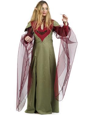 Maskeraddräkt druid Evelina dam