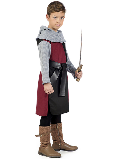 Medieval knight Henry costume for boys