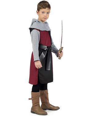 Kostum ksatria abad pertengahan Henry untuk anak laki-laki
