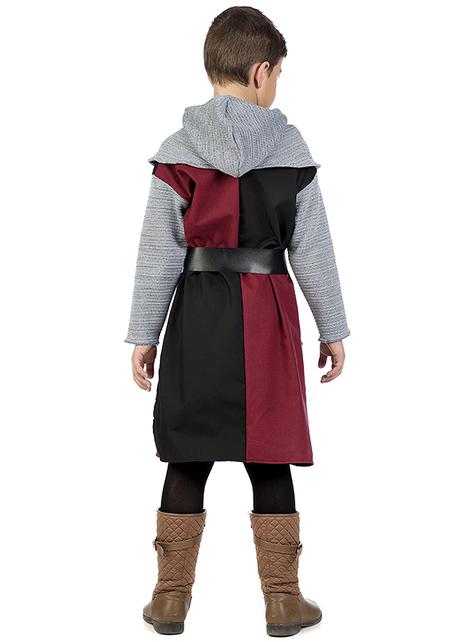 Keskiaikainen ritari Henry -asu pojille