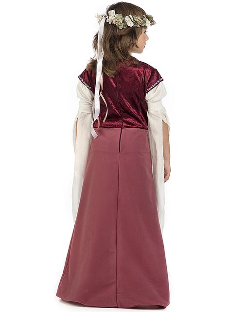 Déguisement dame médiévale Rosalba fille