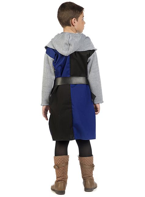 Déguisement chevalier médiéval Roldan garçon
