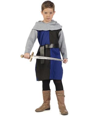 Costume da cavaliere medioevale Orlando per bambino