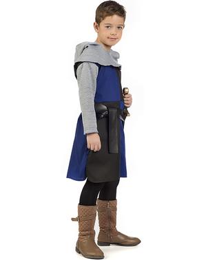 Fato de cavaleiro medieval Roldán para menino