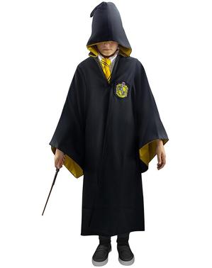 Capa de Hufflepuff Deluxe para menino - Harry Potter