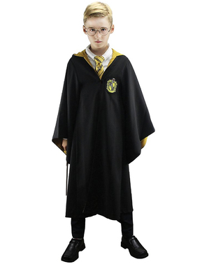 Cape Deluxe Poufsouffle garçon - Harry Potter
