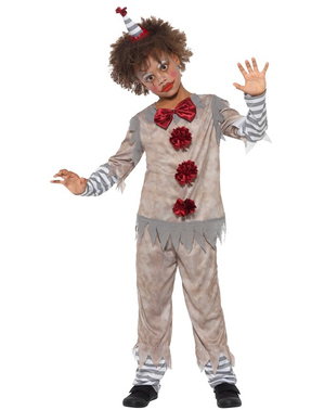 Costume da Pagliaccetto vintage per bambino