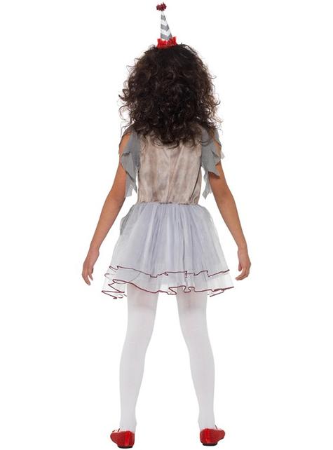 Vintage μικρό κλόουν κοστούμι για τα κορίτσια