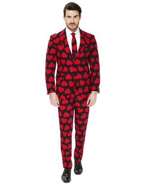 """Черен костюм на Поп Купа """"Kings of Hearts"""" на сърца– Opposuits"""