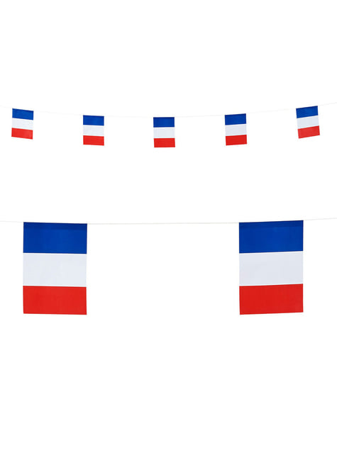 Guirlande de drapeaux de France