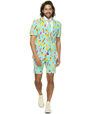 Ice cream print Suit - Opposuits (Summer Edition)
