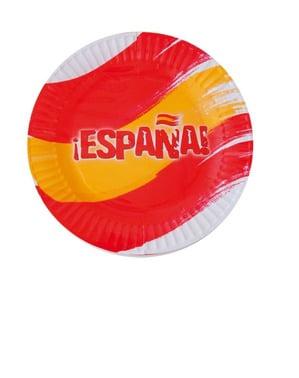 Tallrikar Spanien