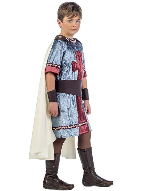 Disfraz de guerrero medieval Diago para niño