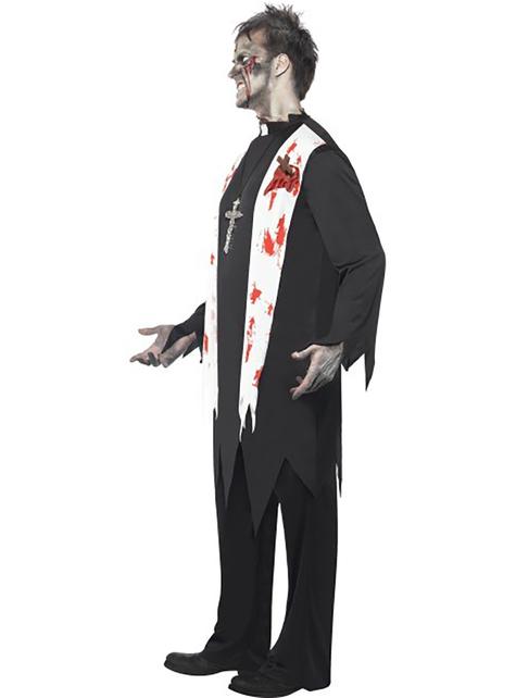 Costum de preot zombie