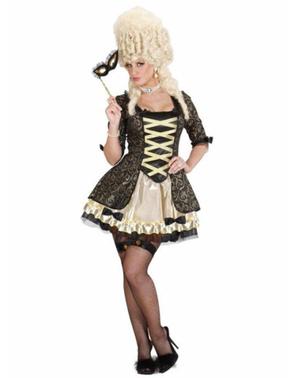 Barokk Venetiansk Lady Kostyme