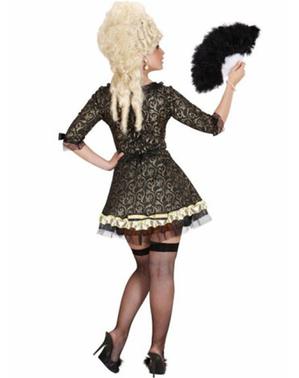Barok Venetiansk Dame Kostume