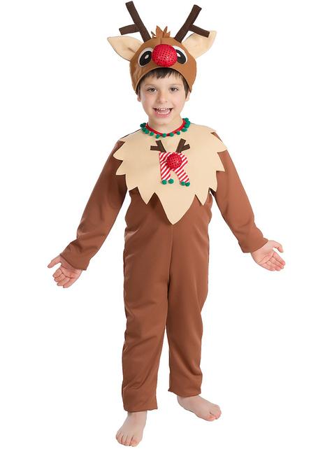 Reindeer Boy Kids Costume