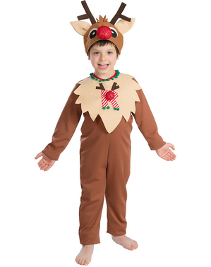 Reindeer Boy Kids Costume