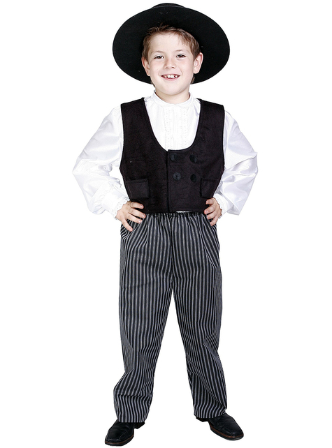 Costume d'Andalou de Cordoue pour garçon