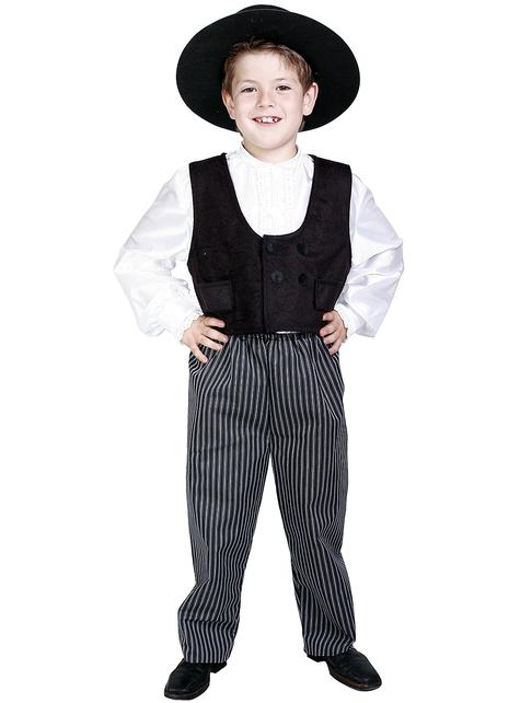 Испански джентълмен детски костюм