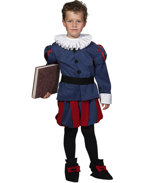 Fato de Cervantes para menino